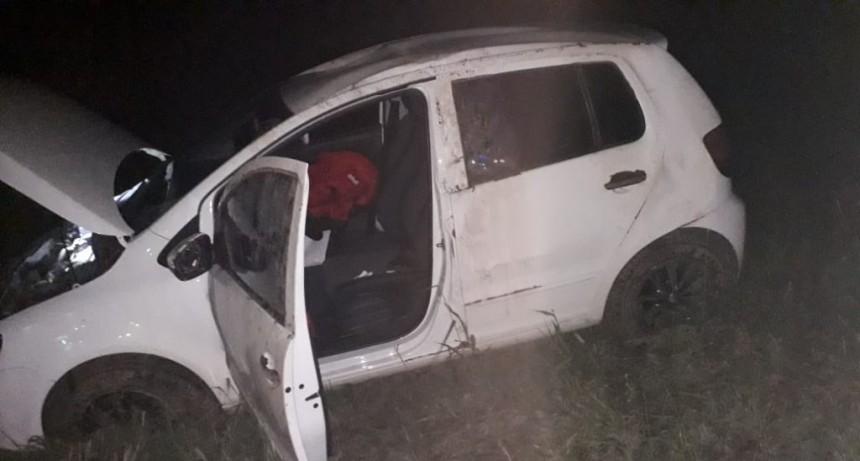 La Punta: bomberos auxiliaron a una mujer en un accidente de tránsito