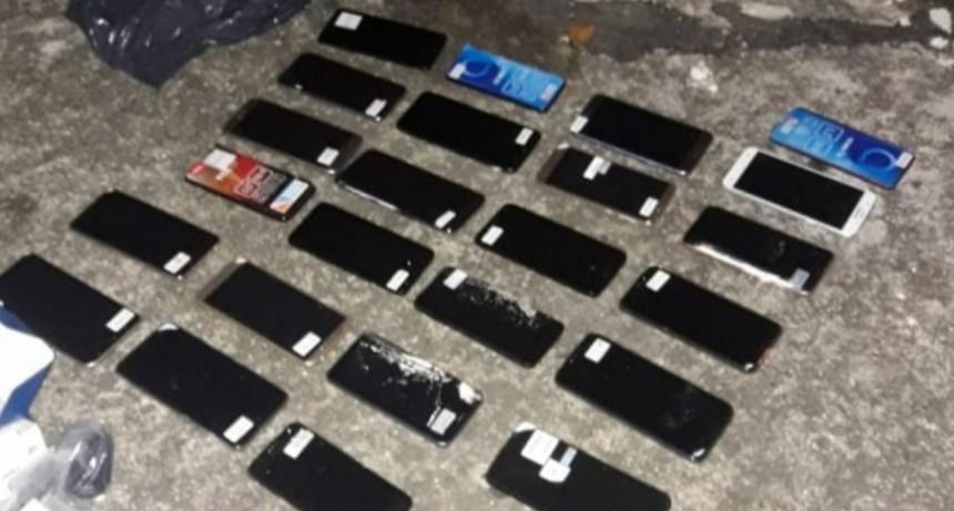 Villa Mercedes: más de 20 celulares robados fueron recuperados