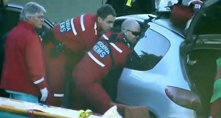 Accidente en la autopista 25 de Mayo: una mujer tuvo que ser rescatada con un helicóptero