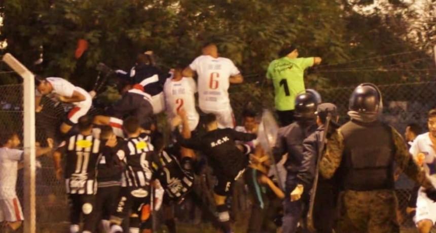 Pagina negra en el Fútbol Puntano