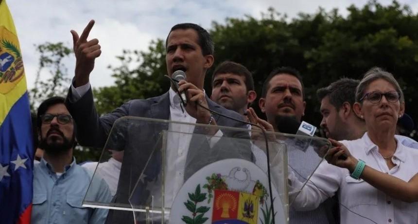 Guaidó pidió ayuda militar a Estados Unidos