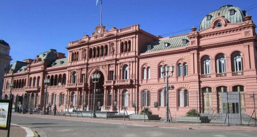 Amenaza de bomba en la Casa Rosada y en el anexo de Diputados