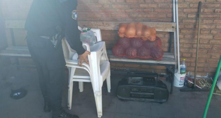 San Luis: se recuperaron elementos robados