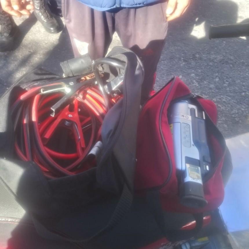 San Luis: dos hombres fueron sorprendidos con elementos de dudosa procedencia