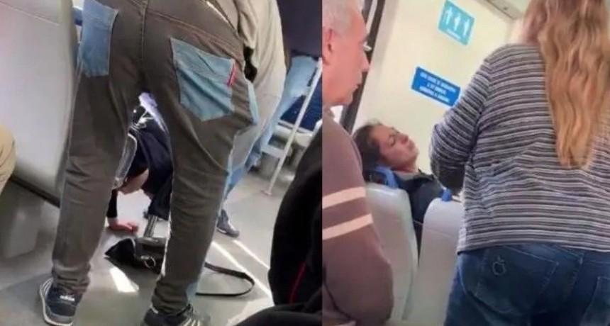Pánico por escalofriante exorcismo en el tren Sarmiento