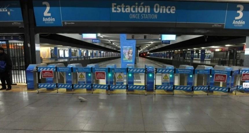 Amenaza de bomba en estación de Once