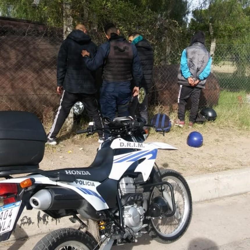 San Luis: tres hombres demorados, uno tenía droga