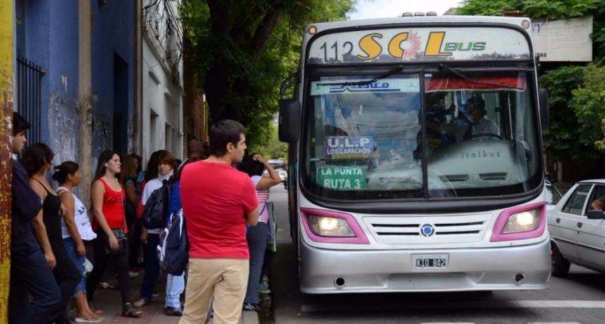 Interurbano: Transporte decidió no aumentar el boleto del servicio