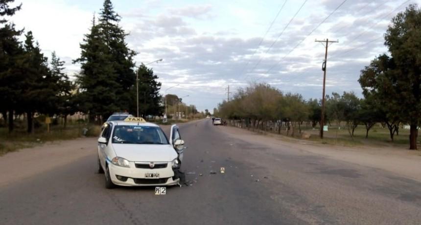 San Luis: fuerte choque en la Ruta 19