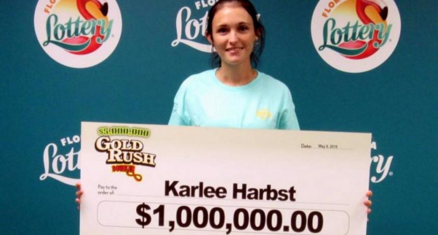 Ganó un millón de dólares en la lotería y los invirtió en el tráfico de drogas