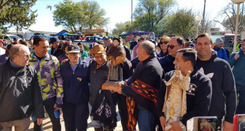 La Lomita: peregrinación policial entre San Luis y Córdoba