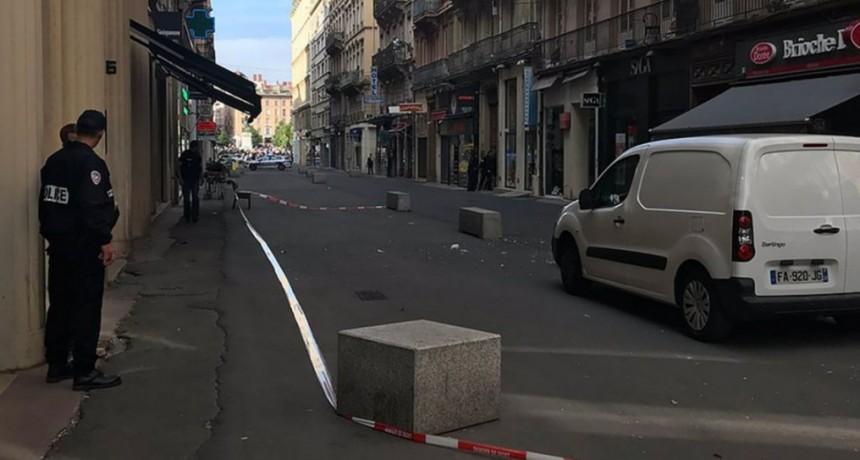 Explosión en Lyon, Francia: al menos ocho personas resultaron heridas