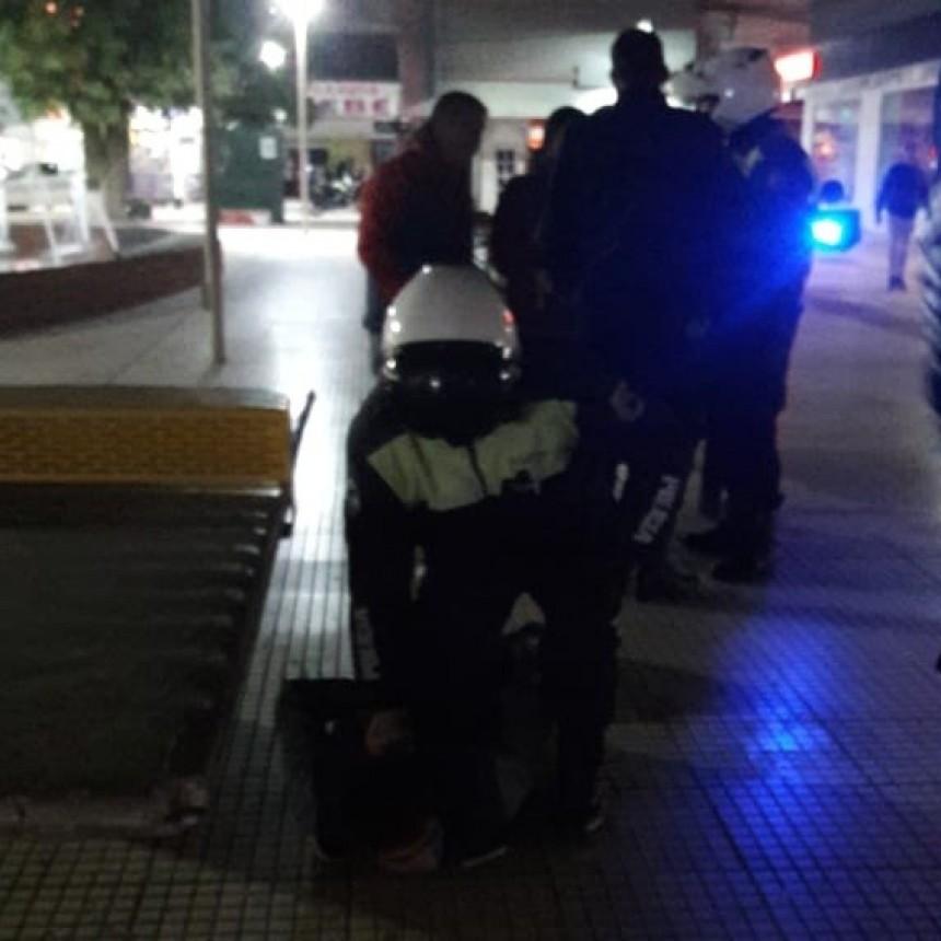 San Luis: detuvieron a un hombre que robó en varios locales del centro puntano