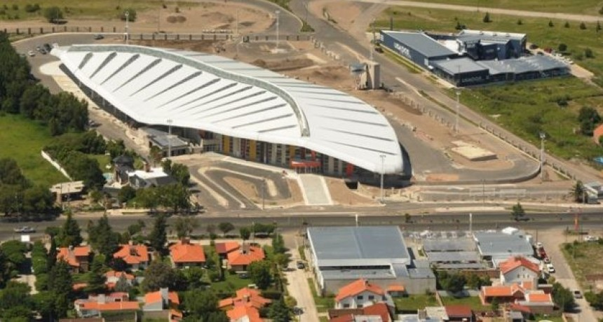 Presentan la nueva iluminación de la terminal de San Luis
