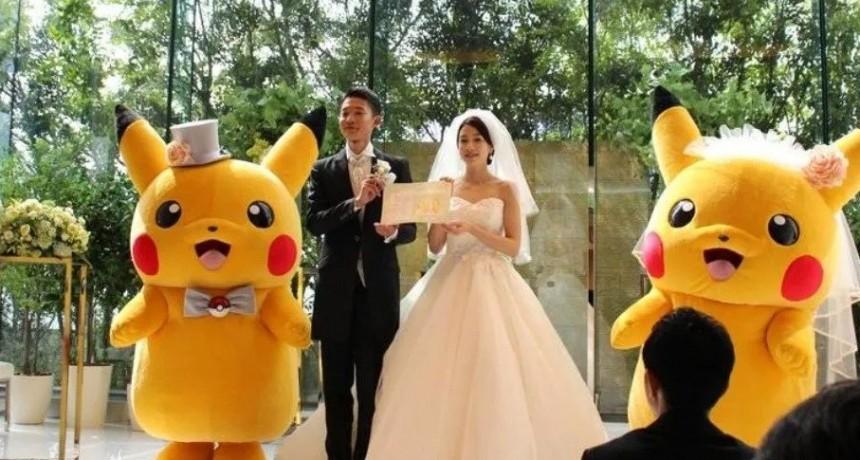 Furor por las bodas temáticas de Pokémon