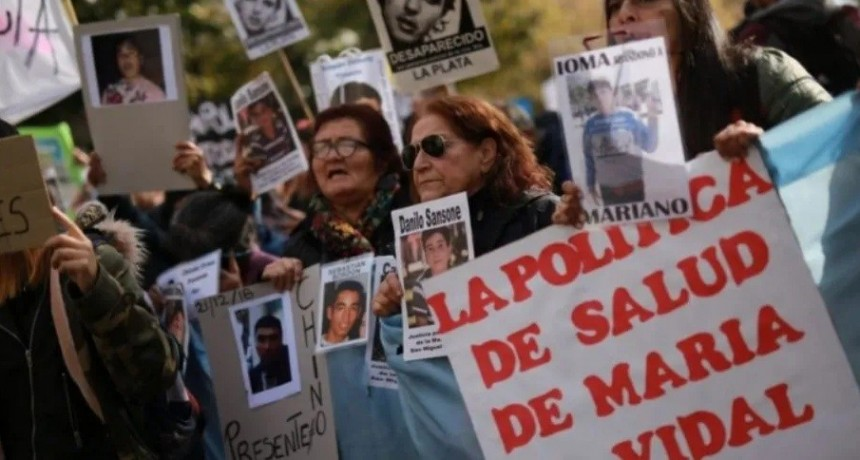 Familiares y amigos de los jóvenes muertos en Monte marcharon contra el gatillo fácil
