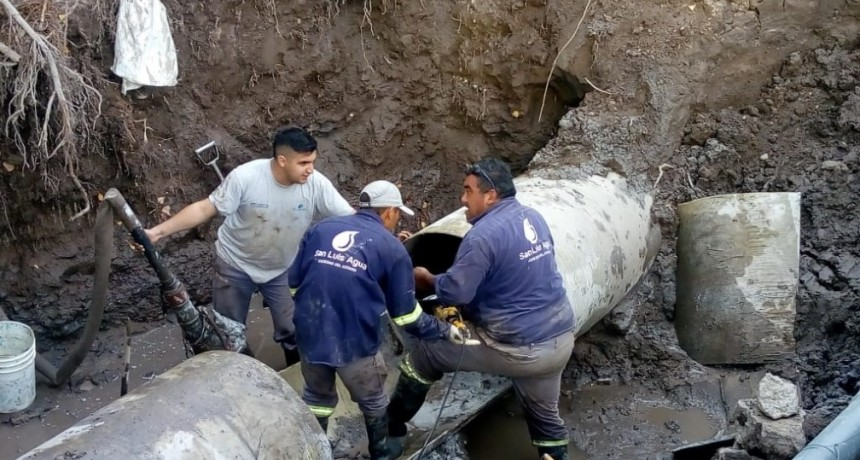 Acueducto Río Grande: este lunes llega el caño y comenzará la última etapa de reparación