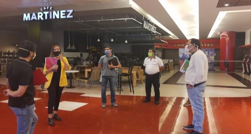 Realizaron prefiscalizaciones en el San Luis Shopping Center