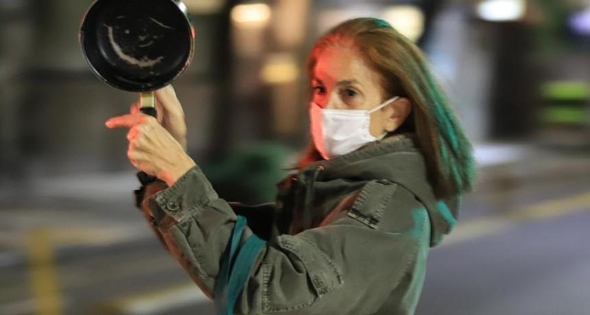 Coronavirus: El cacerolazo contra la cuarentena no tuvo eco