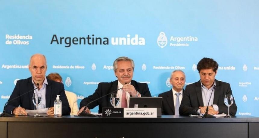 """Alberto Fernández: """"En el AMBA seguirá la cuarentena igual que ahora hasta el 24 de mayo"""