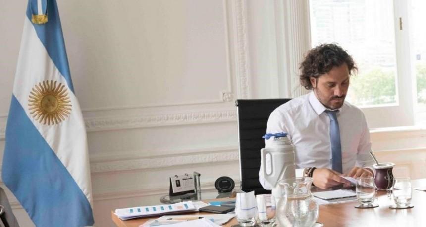 Coronavirus: Santiago Cafiero anunció que el IFE se cobrará también en mayo