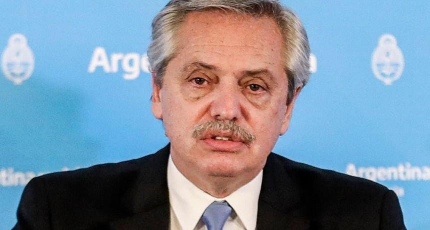 Alberto Fernández, sobre Susana Giménez:
