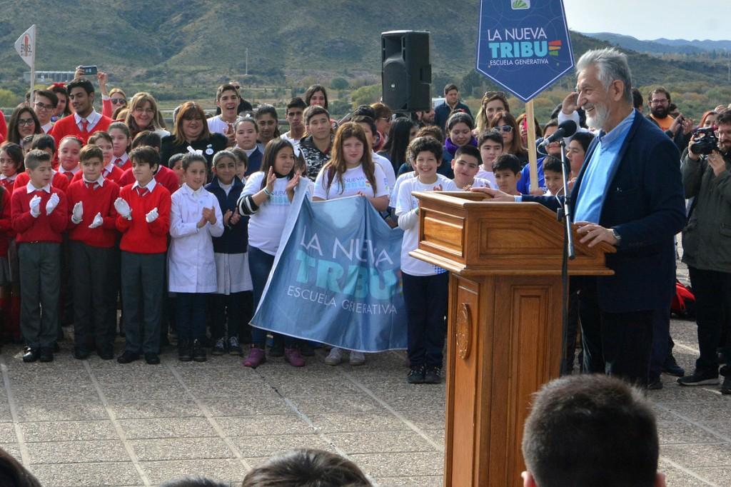 Los alumnos de la provincia prometieron cuidar y defender su entorno natural