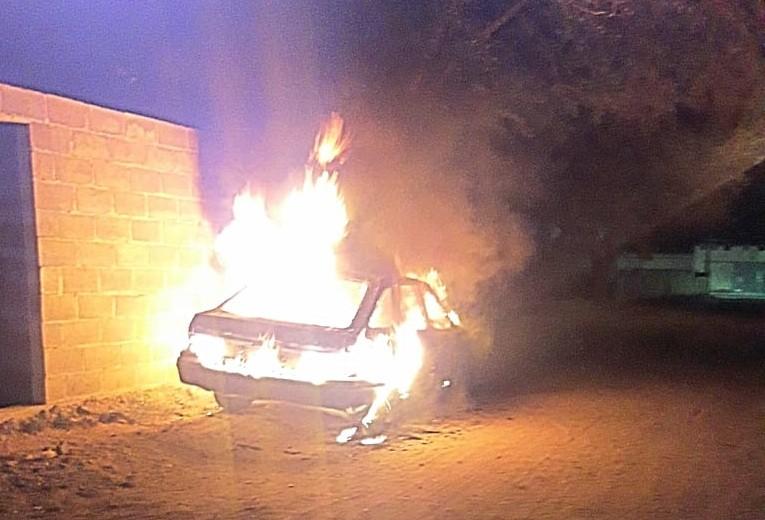 San Luis: se incendiaron dos autos en distintos lugares
