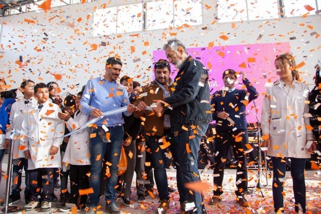 El gobernador inauguró las obras de puesta en valor del Club Deportivo y Social Paso Grande
