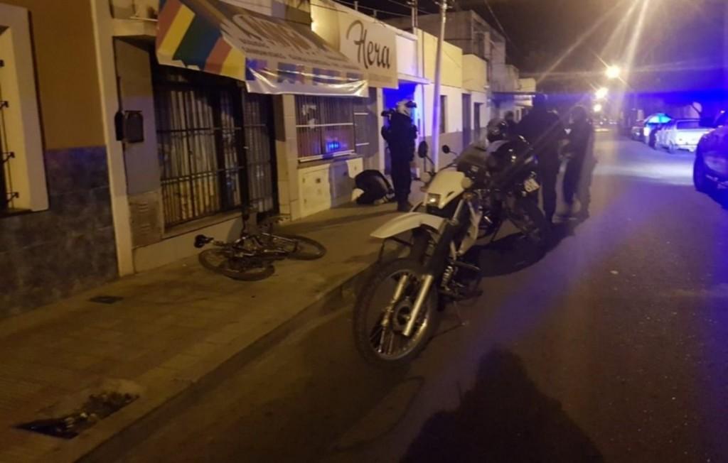 San Luis: demoraron a dos menores que robaron una bicicleta de una casa