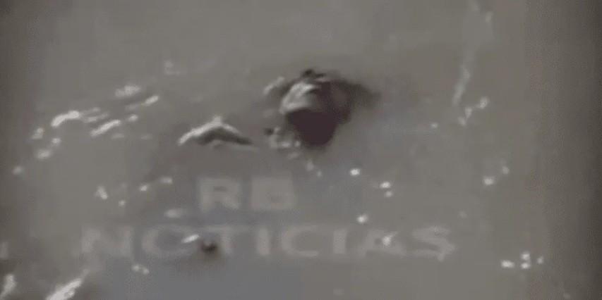 Creyeron que estaba muerto: dormía borracho en un río