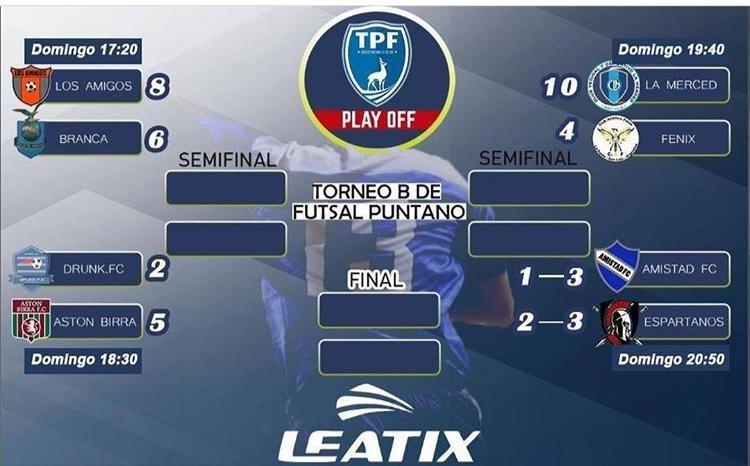 Ya estan los Semifinalistas por el ascenso en Futsal