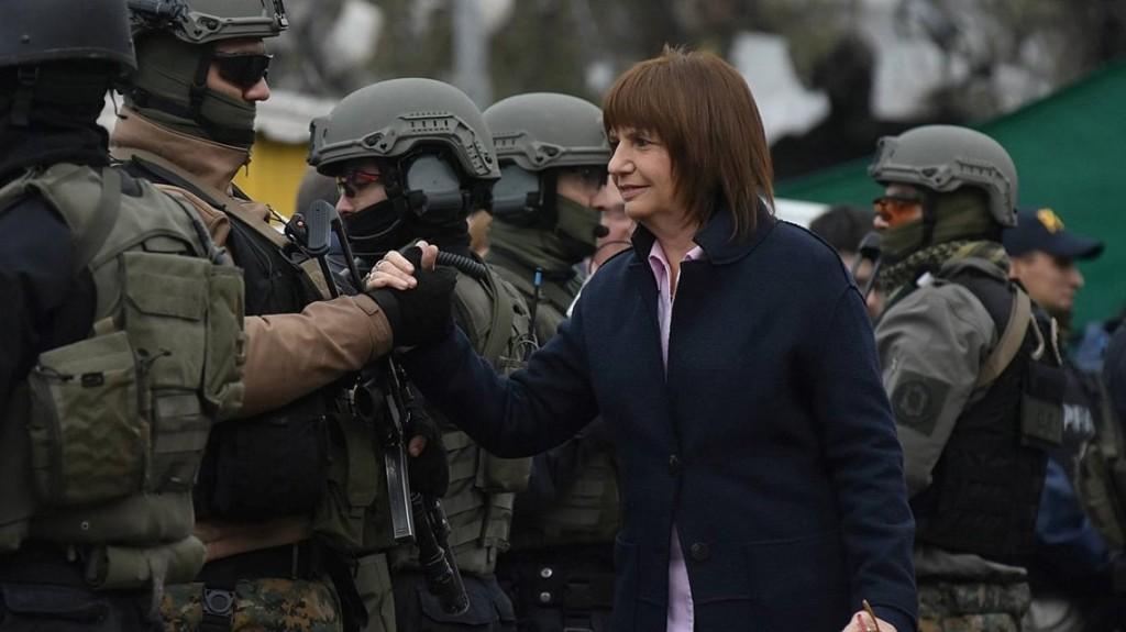 Denunciaron a Patricia Bullrich por llevar adelante un plan sistemático de represión ilegal a los Mapuches