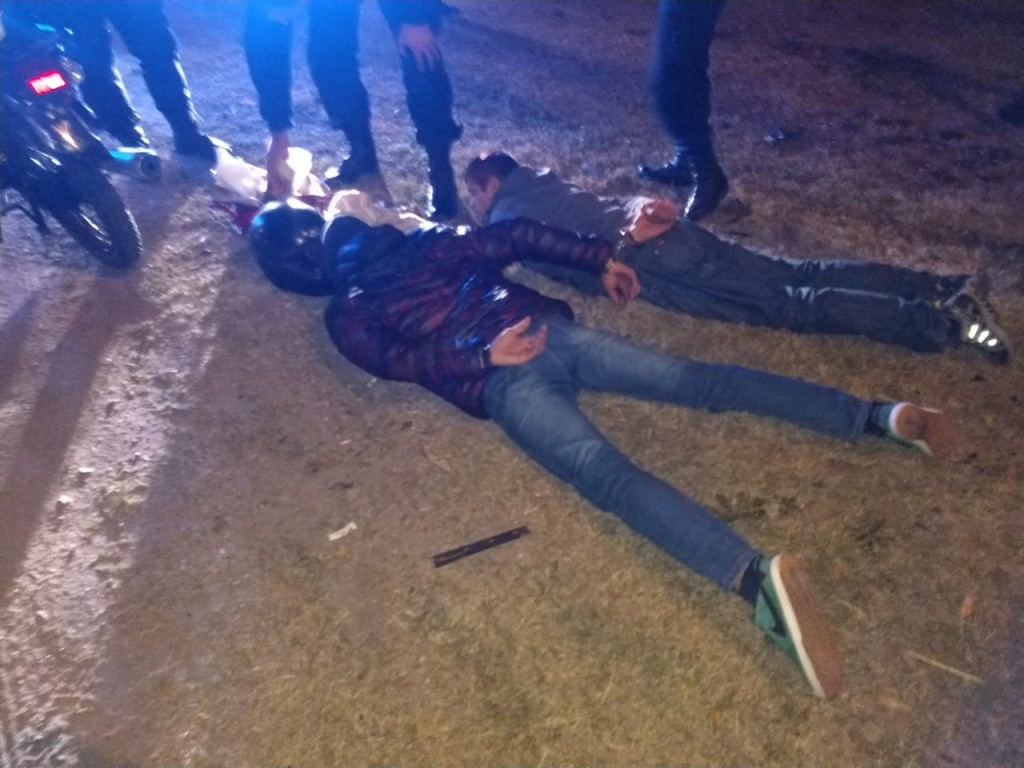 San Luis: detuvieron a dos arrebatadores