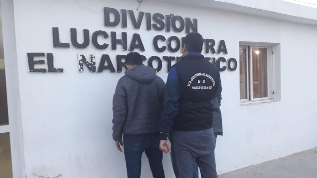 Concarán: cárcel para dos hombres por infringir la Ley de Estupefacientes