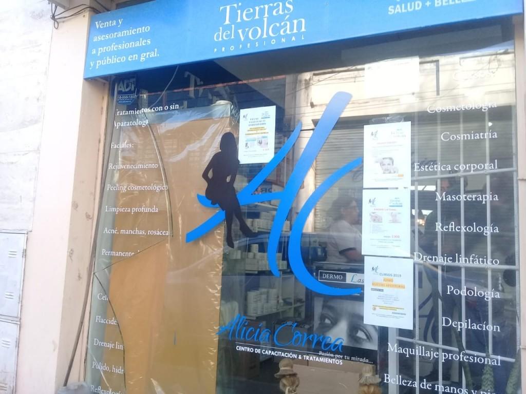 San Luis: robaron en un centro de estética
