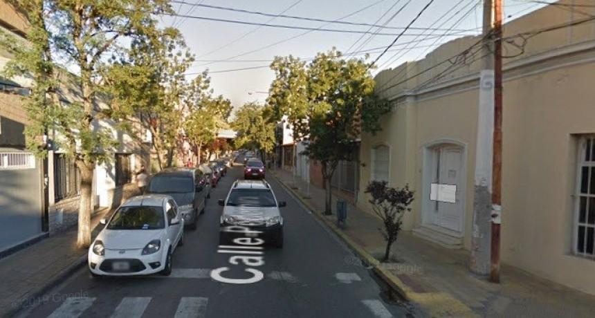 San Luis: un auto y una moto protagonizaron un accidente en la ciudad
