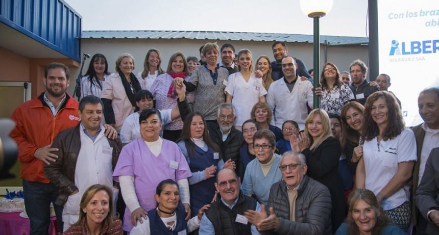 El gobernador inauguró el hospital de Fortuna