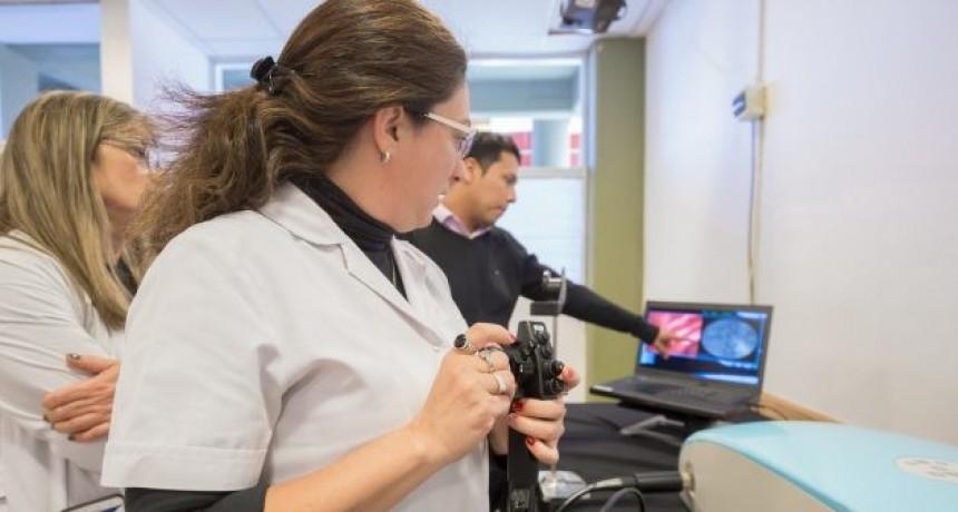 Gastroenterólogos y cirujanos de San Luis se capacitaron con simuladores de alta tecnología en la ULP