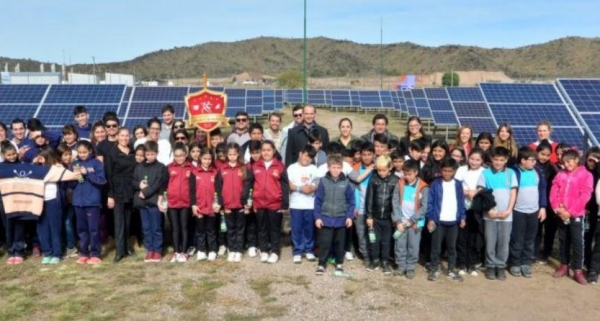 El gobernador inauguró la ampliación del Parque Solar Fotovoltaico que duplicó su generación de energía