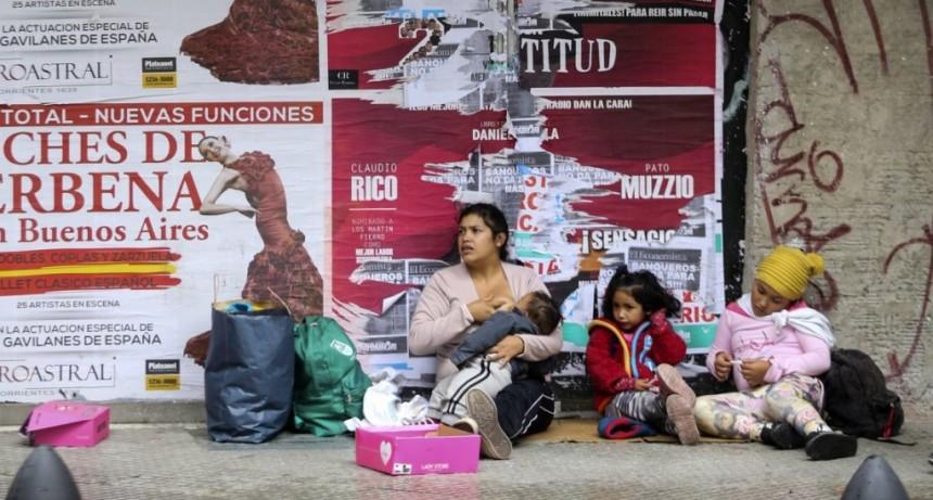 Pobreza: 1,6 millones de menores argentinos no realiza las cuatro comidas diarias