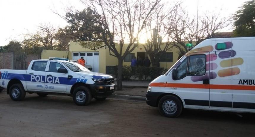 San Luis: encontraron a un hombre muerto en su casa
