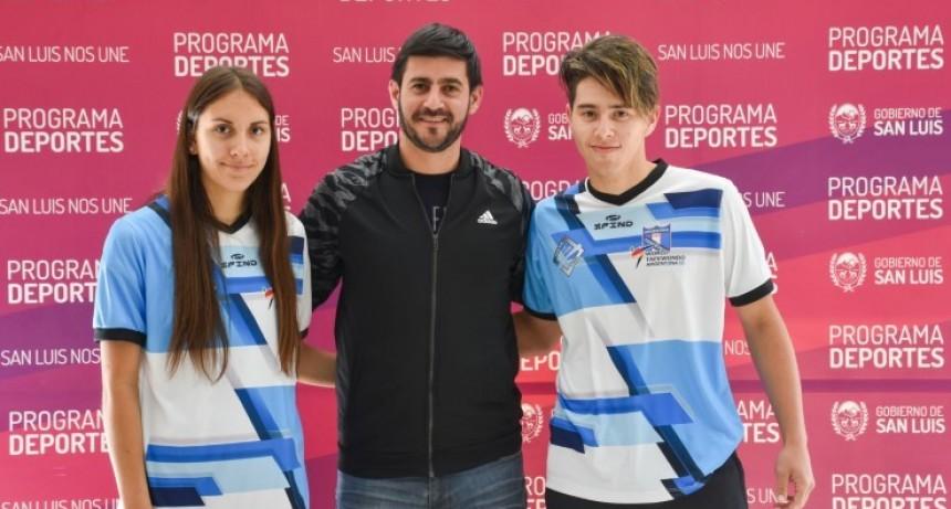 Fabricio Gómez y Milagros Mercado se preparan para el Panamericano de Taekwondo en Estados Unidos