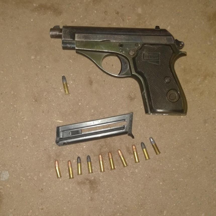 San Luis: detuvieron a un hombre que realizó disparos de arma de fuego