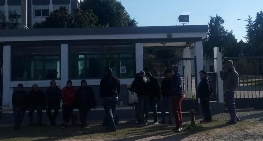 Trabajadores de Zanella se manifestaron en el Parque Industrial