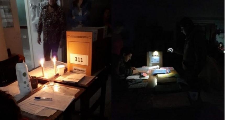 Con inconvenientes por el apagón, se desarrollaron las elecciones en cuatro provincias del país
