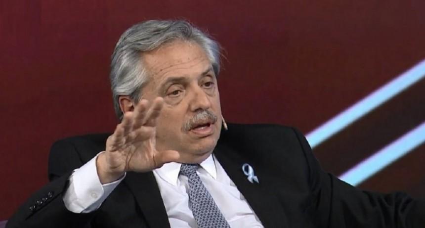 Alberto Fernández felicitó a Alberto Rodríguez Saa y a los demás candidatos peronistas que ganaron este domingo