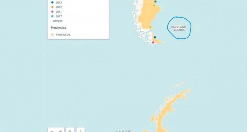 El Gobierno publicó otro mapa que llama