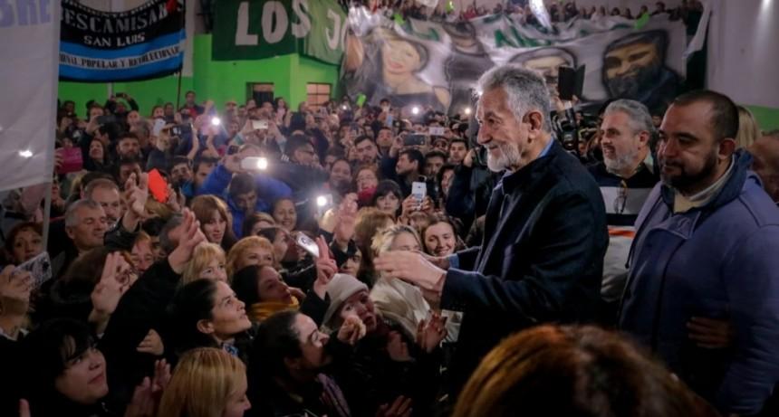 "Alberto Rodríguez Saá: ""Hemos logrado un triunfo histórico que nos pertenece a todos"""