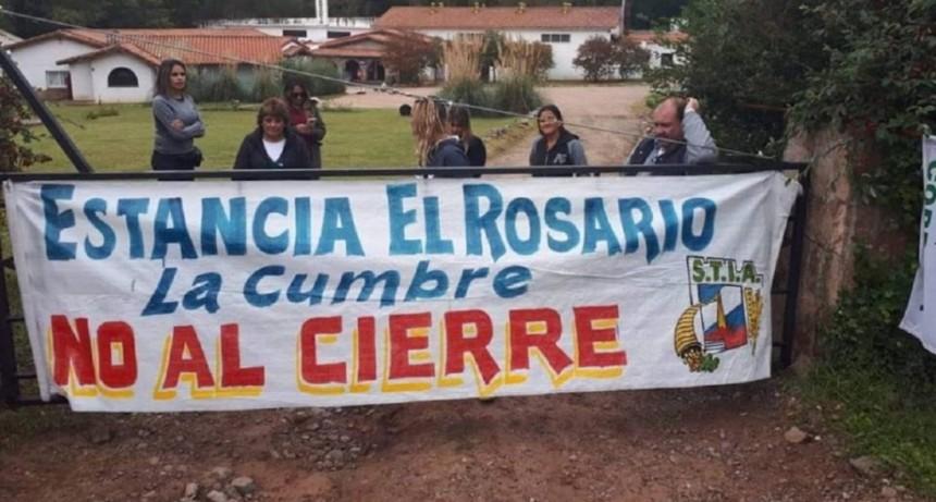 La fábrica de alfajores Estancia El Rosario está al borde del cierre y despidió al 80% de sus trabajadores